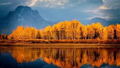 Autumn Lake Trees Mountains Wallpapers 1080 1920