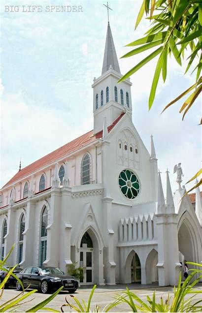 Singapore Churches Catholic Scenic Tamil 00am Holidays