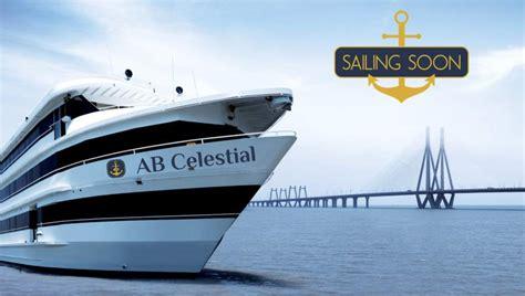 Yacht Bandra by Ab Celestial Mumbai S Floating Hotel On Yacht At