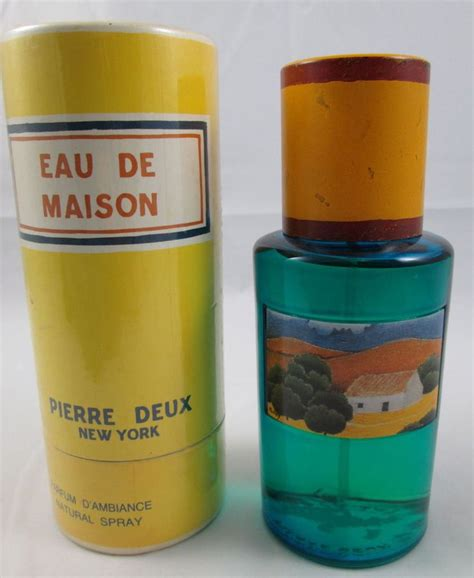 deux eau de maison parfum d ambiance spray 8 ounces in original package bottle the o