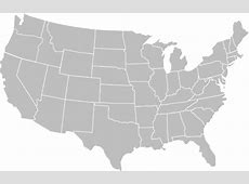 Blank Gray Usa Map White Lines Clip Art at Clkercom