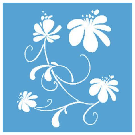 pochoir fleur maison pratic boutique pour vos loisirs creatifs et votre deco