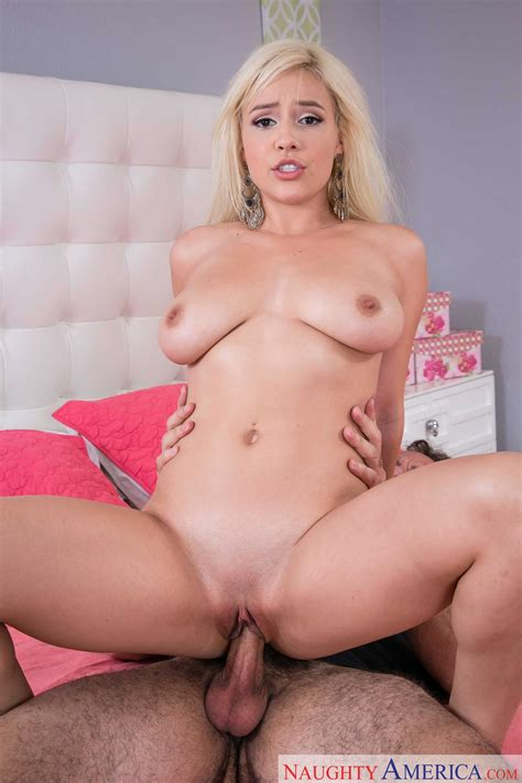 Cute young blonde Kylie Page getting fucked by older guy - My Pornstar Book