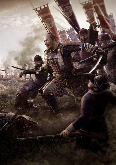total war shogun   samurai   falling