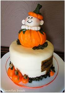 Welcome Little Pumpkin - CakeCentral com