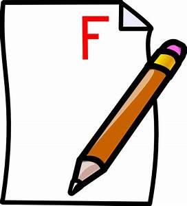 Failed Test Clipart - Clipart Suggest
