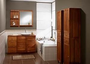 meuble en teck de salle de bain photo 2 20 une belle With leroy merlin meuble salle de bain teck