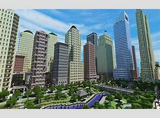 Liberty Craft City Minecraft Project