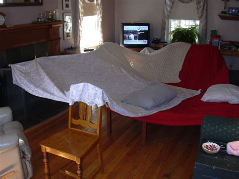 fort with sheets living room fort