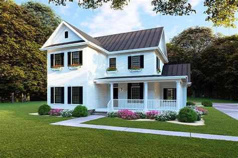 Narrow Home Plans & Shallow Lot House Plans for Small