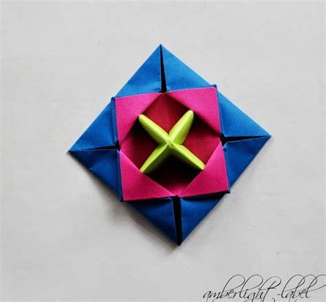 origami spinne falten amberlight label kindergeburtstag anleitung papierkreisel falten makotokoma spinning top