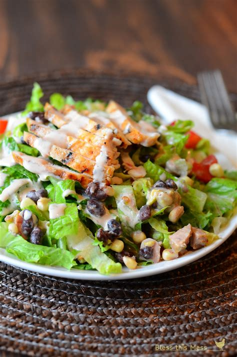 Ranch Dressing Houses Not Salads by Barbecue Ranch Chicken Salad Bless This Mess