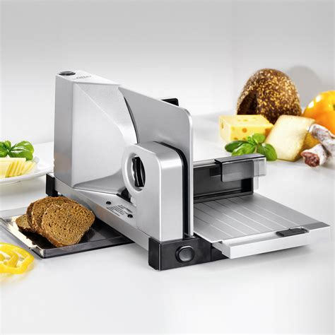 trancheuse cuisine trancheuse ultra compacte ritter quot icaro7 quot avec lame lisse pour jambon et fromage