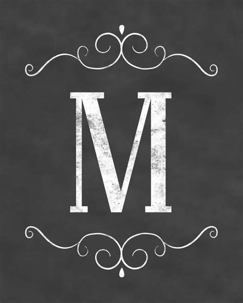 unique monogram initials ideas  pinterest diy