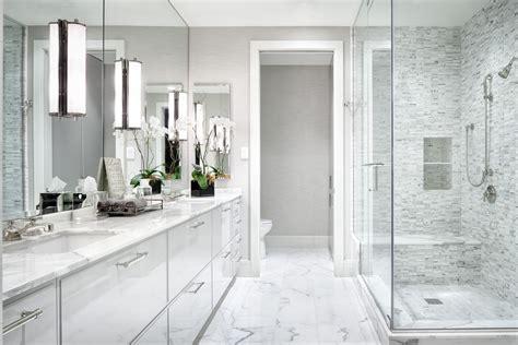 Modern Master Bathroom Colors by White Modern Master Bathroom The Austonian Tx