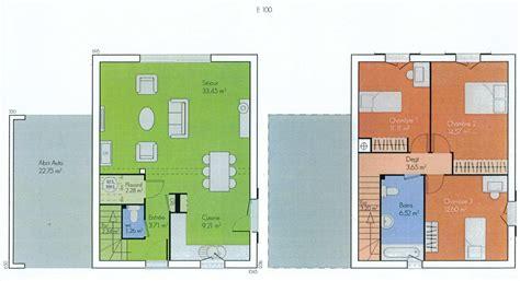 maison 6 chambres impressionnant plan maison 6 chambres ravizh com
