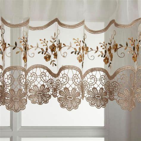 Kitchen Curtains by Hci Curtain Vintage Embroidered Kitchen Curtain Window