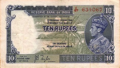Well, only time can tell… Indian 10-rupee note - Wikipedia