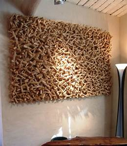 Panneau Bois Decoratif Interieur : panneaux bois decoratif table design bois metal panneaux decoratifs de jardin dans maison ~ Melissatoandfro.com Idées de Décoration