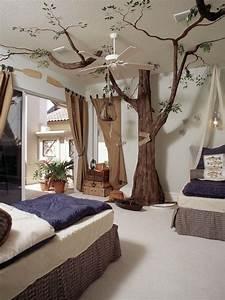 Dekoration Für Kinderzimmer : dekoration ideen einrichtung f r kinderzimmer baum zweige ~ Michelbontemps.com Haus und Dekorationen