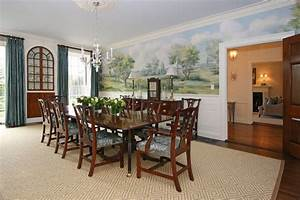 federal colonial restoration traditional dining room With how to create perfect modern dining room
