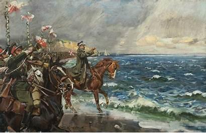 Polish Poland Paintings Army Culture Museum Polski