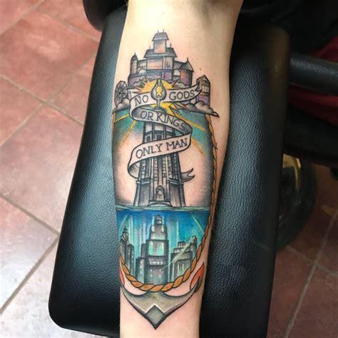 foto de Finally got my Bioshock tattoo Bioshock tattoo Nerdy