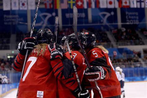 usa  canada womens olympic hockey   updates