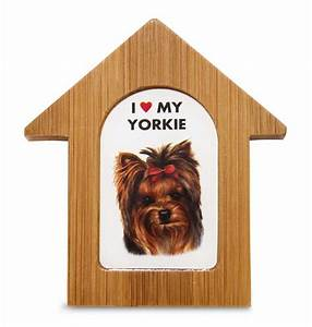 yorkie wooden dog house magnet 35 x 3 in self standing With yorkie dog house