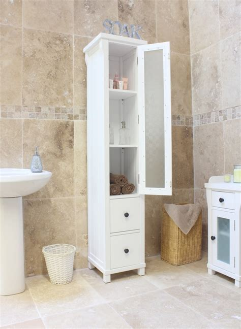 Narrow White Bathroom Cabinet by Narrow Bathroom Cabinet As A Wonderful Storage In Your