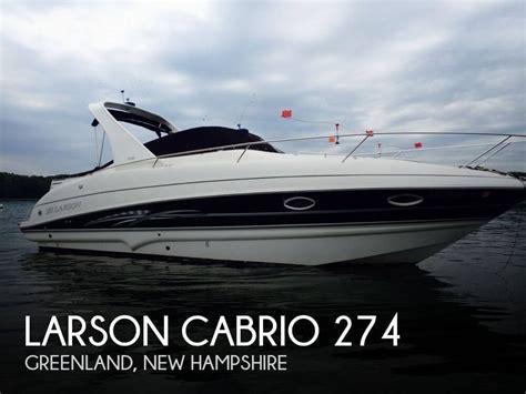 Larson Boats Cabrio 274 by Larson Cabrio 274 Boat For Sale From Usa