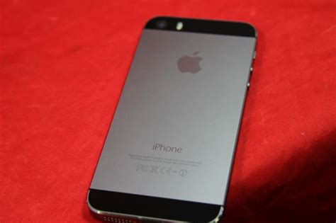 apple iphone 5s model a1533 space gray locked for