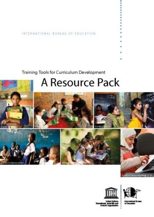 unesco international bureau of education tools for curriculum development a resource pack