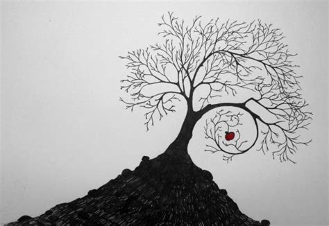 apple tree with roots drawing 18 tree drawings jpg psd ai illustrator