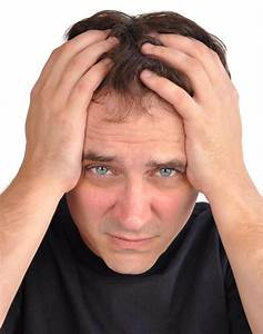 Worried Man With Stress Closeup Stock Photo - Image of ...
