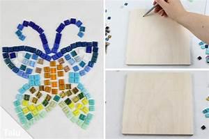3d Bilder Selber Machen : mosaik selber machen bastel ideen mosaiksteine herstellen ~ Frokenaadalensverden.com Haus und Dekorationen