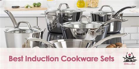 cookware induction sets aria pots pans kitchen