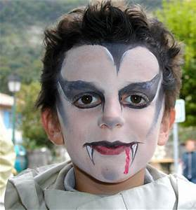 Maquillage Halloween Garcon : consultez la galerie des r alisations des enfants de t te ~ Melissatoandfro.com Idées de Décoration
