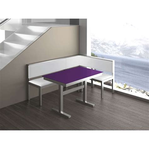 Coin Repas Banquette by Banquette Coin Repas Berna 4 Pieds Tables Chaises Et
