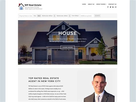 Free Real Estate Themes 10 Best Free Real Estate Themes 2018 Velathemes