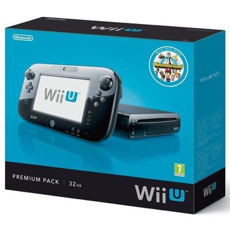 Console Nintendo Wii U by Pack Console Wii U Nintendo Land Premium Achat Vente