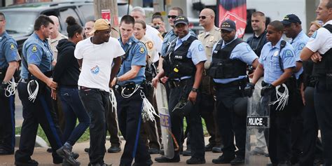 Police Arrest Protesters as St. Louis Awaits Grand Jury ...