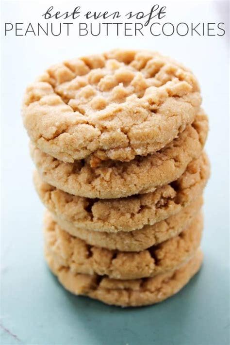 Best Peanut Butter Best Soft Peanut Butter Cookies A Dash Of Sanity