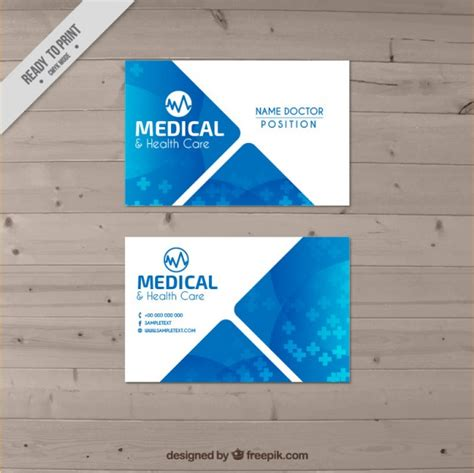doctor business card vector