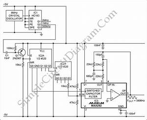 Oscillators  U2013 Page 13  U2013 Simple Circuit Diagram