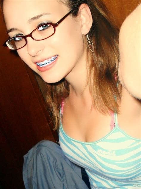 Cute Teens With Braces Glasses