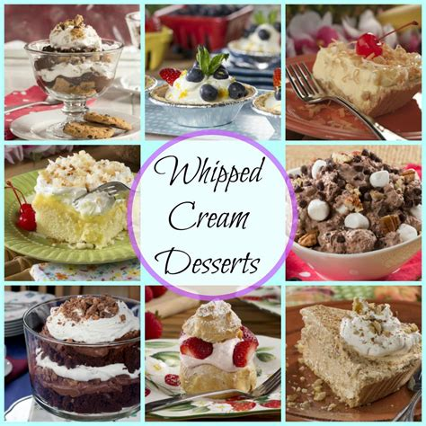 Heavy whipping cream is the miracle ingredient that whipped cream is made from. Whipped Cream Desserts: 39 Whipping Cream Recipes | MrFood.com