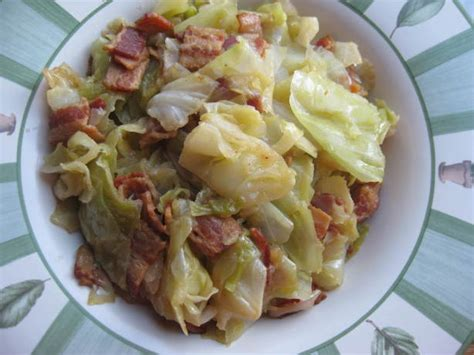 southern style cabbage recipe foodcom