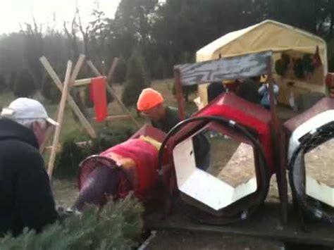 christmas tree bailer sydney in the tree baler