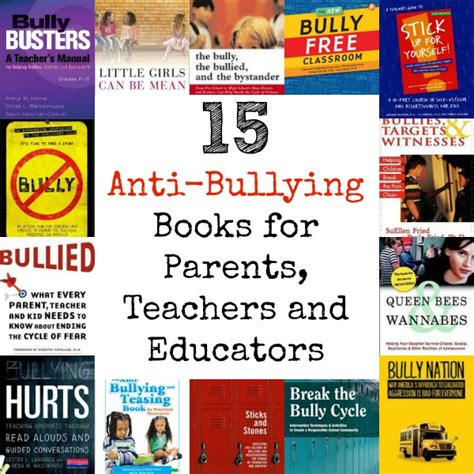 15 anti bullying books for parents teachers and educators 805   bully2a